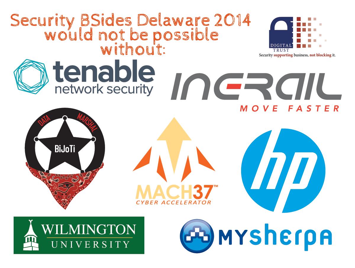 BSidesDE 2014 Sponsors