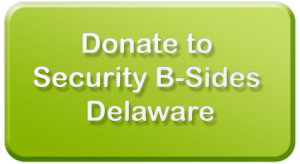 Click here to donate to BSidesDE via WePay